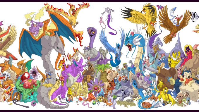 Op ed theredefined for Mural 1 pokemon picross
